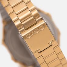 Наручные часы CASIO Collection A-168WG-9B Gold/Rhombus Yellow фото- 3