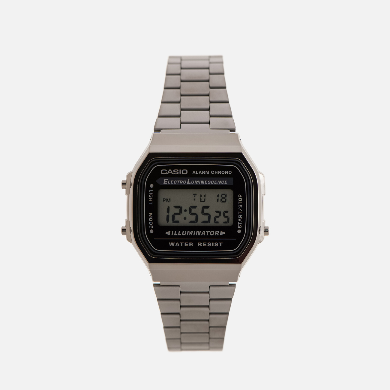 Наручные часы CASIO Collection A168WEGG-1AEF Dark Silver/Black