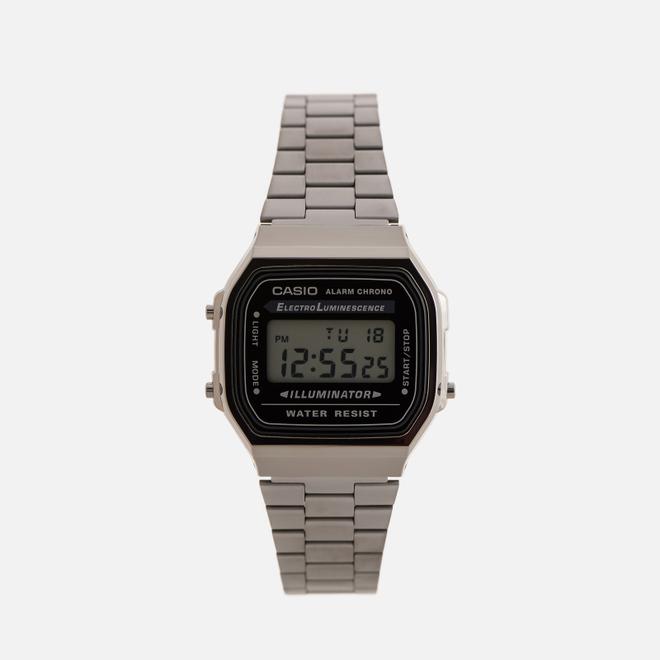 Наручные часы CASIO Collection A168WEGG-1AEF Dark Silver/Black