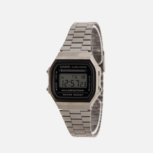 Наручные часы CASIO Collection A168WEGG-1AEF Dark Silver/Black фото- 1