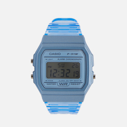 Наручные часы CASIO Collection F-91WS-2EF Clear Blue