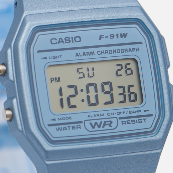 Наручные часы CASIO Collection F-91WS-2EF Clear Blue