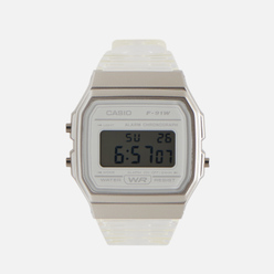 Наручные часы CASIO Collection F-91WS-7EF Clear