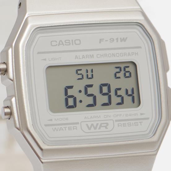Наручные часы CASIO Collection F-91WS-7EF Clear