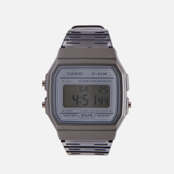Наручные часы CASIO Collection F-91WS-8EF Clear Grey