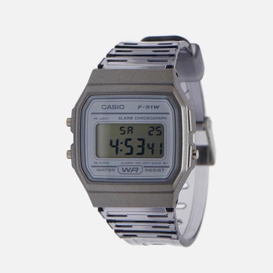 Наручные часы CASIO Collection F-91WS-8EF Clear Grey