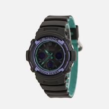 Наручные часы CASIO G-SHOCK AWG-M100SBL-1AER 90s Series Black/Purple/Green фото- 1