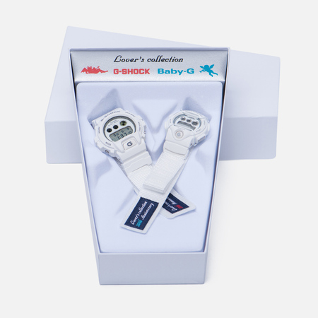 Наручные часы CASIO G-SHOCK & Baby-G LOV-16C-7D Lover's Collection White