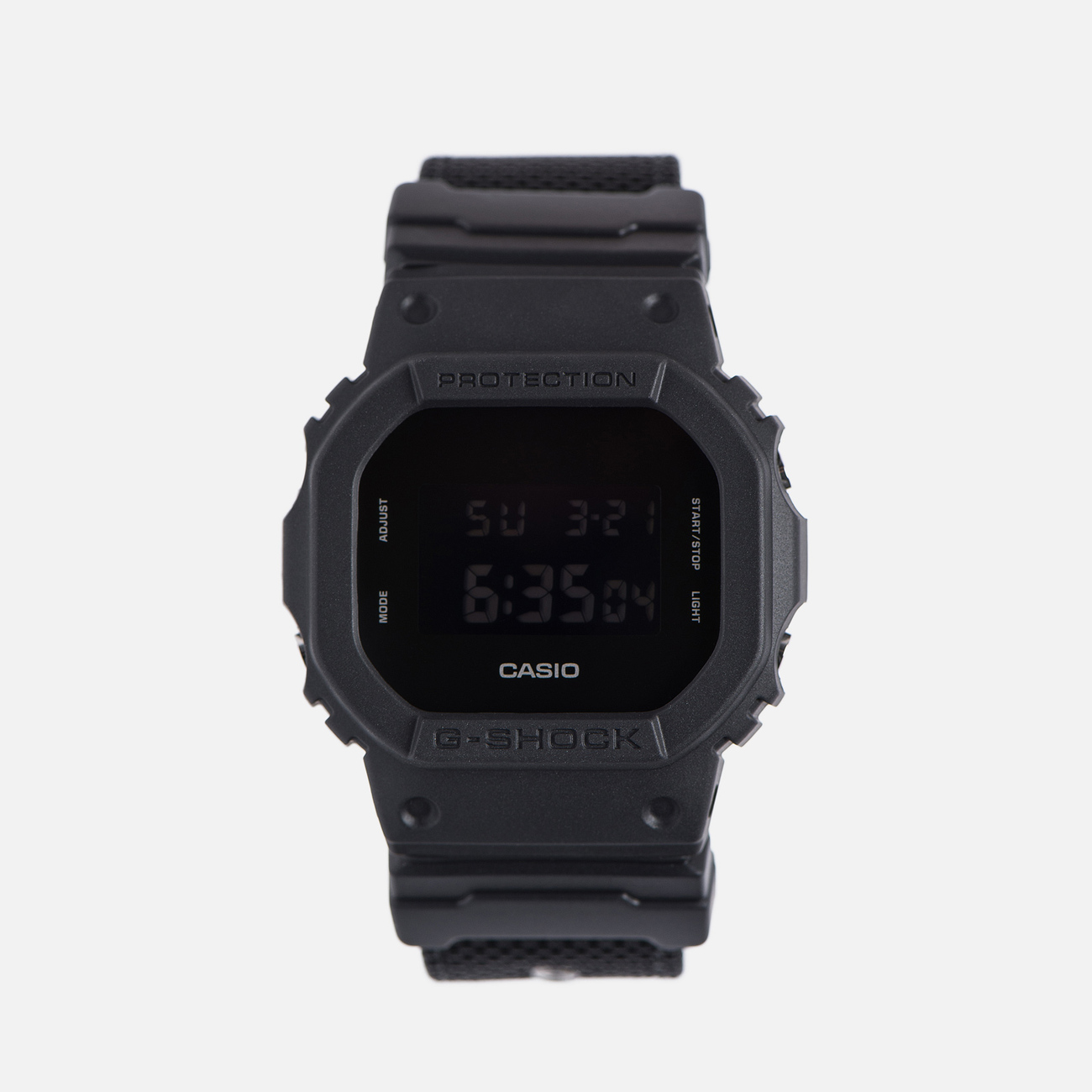 Наручные часы CASIO G-SHOCK DW-5600BBN-1E Cordura Series Military Black