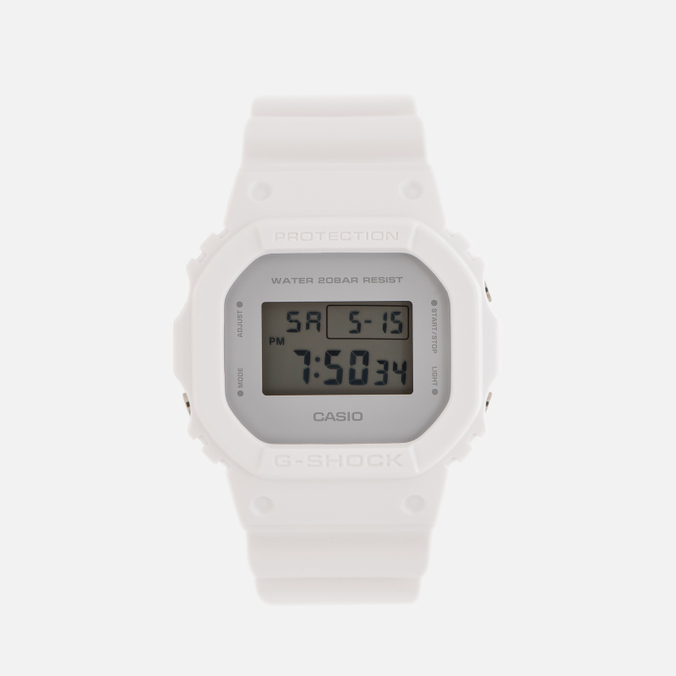 Наручные часы CASIO G-SHOCK DW-5600CU-7E Clean Military Colors Pack White