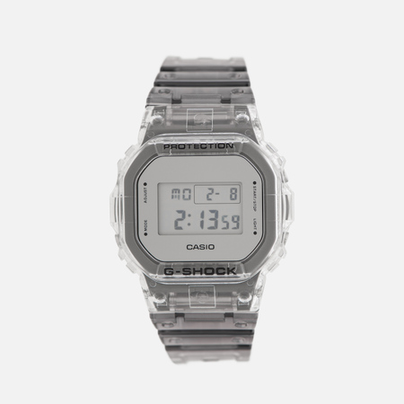 Наручные часы CASIO G-SHOCK DW-5600SK-1ER Super Clear Skeleton Series Gray Metallic