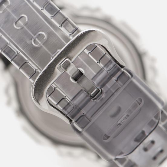 Наручные часы CASIO G-SHOCK DW-5600SK-1ER Super Clear Skeleton Series Gray Metallic