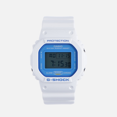 Наручные часы CASIO G-SHOCK DW-5600WB-7E White/Blue