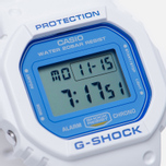 Наручные часы CASIO G-SHOCK DW-5600WB-7E White/Blue фото- 2