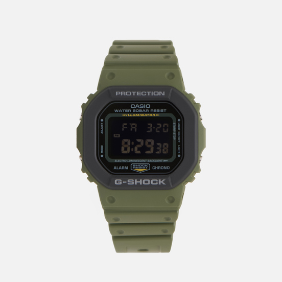 Наручные часы CASIO G-SHOCK DW-5610SU-3ER Green/Black