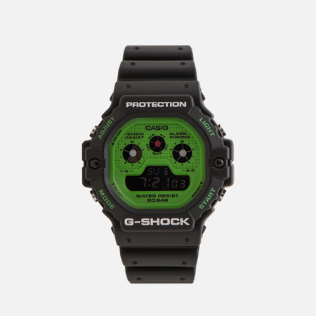 Наручные часы CASIO G-SHOCK DW-5900RS-1ER Hot Rock Sounds Series Black/Green