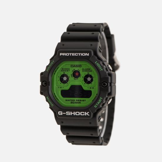 Наручные часы CASIO G-SHOCK DW-5900RS-1ER Hot Rock Sounds Series Black/Green