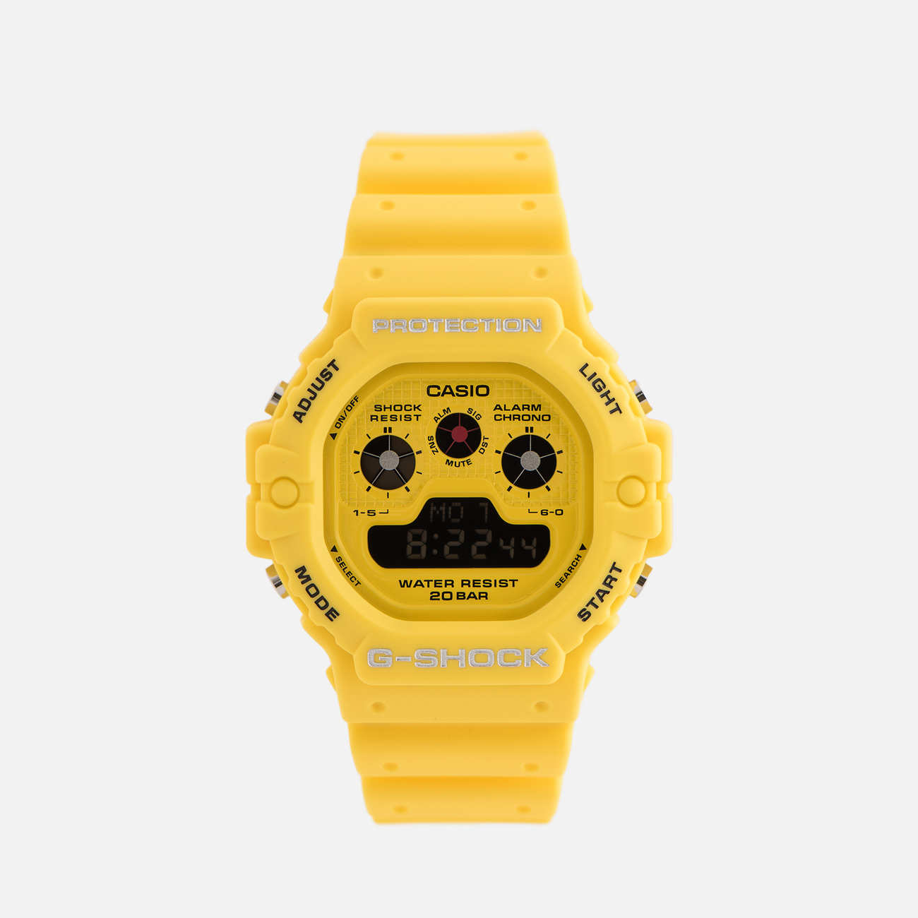Наручные часы CASIO G-SHOCK DW-5900RS-9ER Hot Rock Sounds Series Yellow/Black