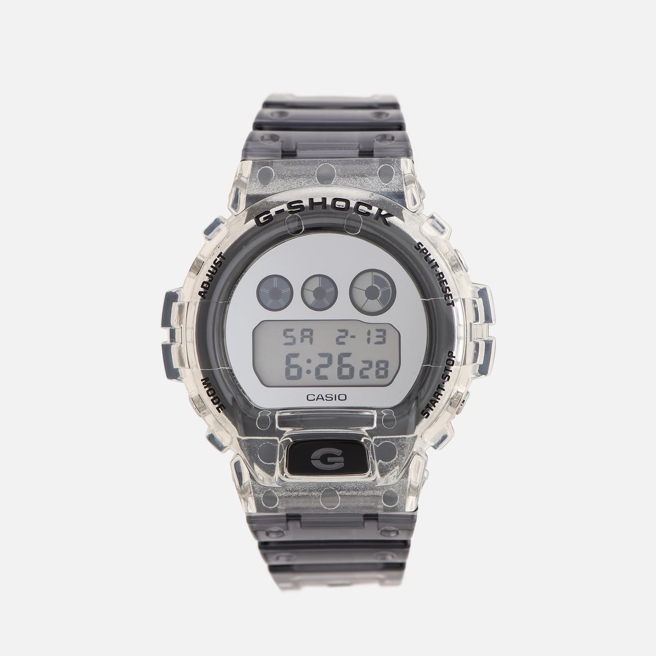 Наручные часы CASIO G-SHOCK DW-6900SK-1ER Skeleton Series Super Clear