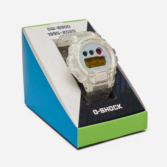 Наручные часы CASIO G-SHOCK DW-6900SP-7ER 25th Anniversary Clear/Blue