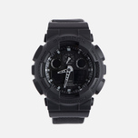 Наручные часы CASIO G-SHOCK GA-100BBN-1A Cordura Series Military Black фото- 0