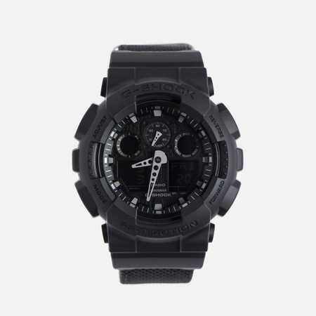Наручные часы CASIO G-SHOCK GA-100BBN-1A Cordura Series Military Black
