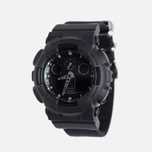Наручные часы CASIO G-SHOCK GA-100BBN-1A Cordura Series Military Black фото- 1