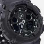 Наручные часы CASIO G-SHOCK GA-100BBN-1A Cordura Series Military Black фото- 2