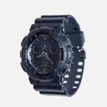 Наручные часы CASIO G-SHOCK GA-100CG-2A Cracked Ground Pattern Series Blue фото- 1