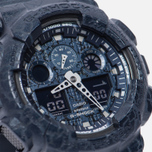 Наручные часы CASIO G-SHOCK GA-100CG-2A Cracked Ground Pattern Series Blue фото- 2