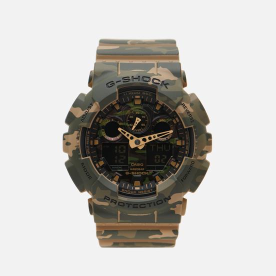 Наручные часы CASIO G-SHOCK GA-100CM-5A Camo Green