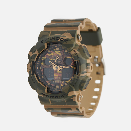 Casio G-SHOCK GA-100CM-5A Watch Camo Green