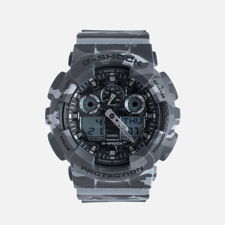 Casio G-SHOCK GA-100CM-8A Watch Camo Grey