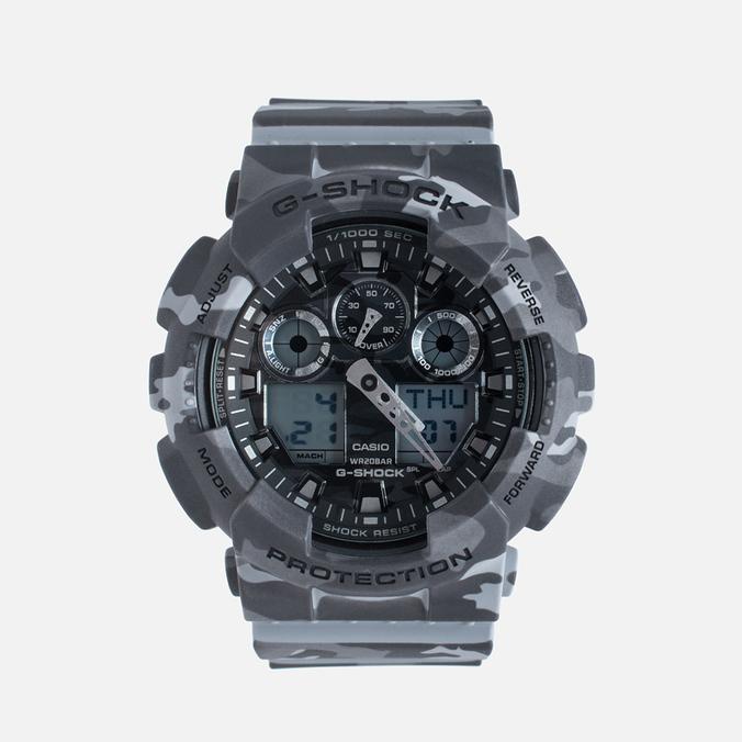 Наручные часы CASIO G-SHOCK GA-100CM-8A Camo Grey