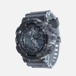 Наручные часы CASIO G-SHOCK GA-100CM-8A Camo Grey фото- 1