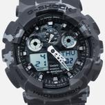 Наручные часы CASIO G-SHOCK GA-100CM-8A Camo Grey фото- 2