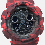 Наручные часы Casio G-SHOCK GA-100CM-4A Camo Red фото- 2