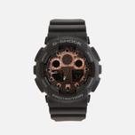 Наручные часы CASIO G-SHOCK GA-100MMC-1AER Black/Gold фото- 0