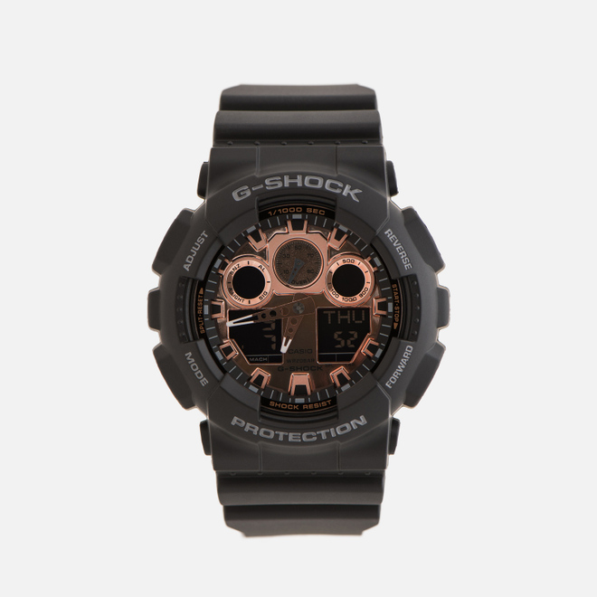 Наручные часы CASIO G-SHOCK GA-100MMC-1AER Black/Gold