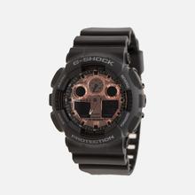 Наручные часы CASIO G-SHOCK GA-100MMC-1AER Black/Gold фото- 1