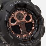 Наручные часы CASIO G-SHOCK GA-100MMC-1AER Black/Gold фото- 2