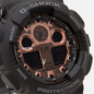Наручные часы CASIO G-SHOCK GA-100MMC-1AER Black/Gold фото - 2