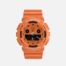 Наручные часы CASIO G-SHOCK GA-100RS-4AER Hot Rock Sound Series Orange/Black фото- 0