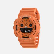 Наручные часы CASIO G-SHOCK GA-100RS-4AER Hot Rock Sound Series Orange/Black фото- 1