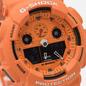 Наручные часы CASIO G-SHOCK GA-100RS-4AER Hot Rock Sound Series Orange/Black фото - 2