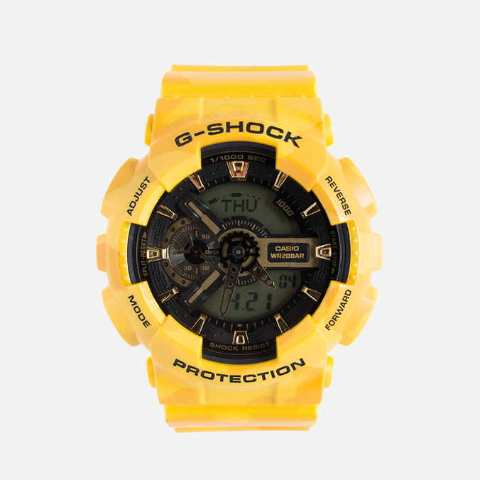 Наручные часы Casio G-SHOCK GA-110CM-9A Yellow