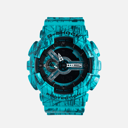 Casio G-SHOCK GA-110SL-3A Watch Turquoise