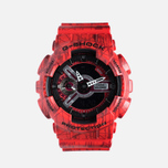 Наручные часы CASIO G-SHOCK GA-110SL-4A Red фото- 0