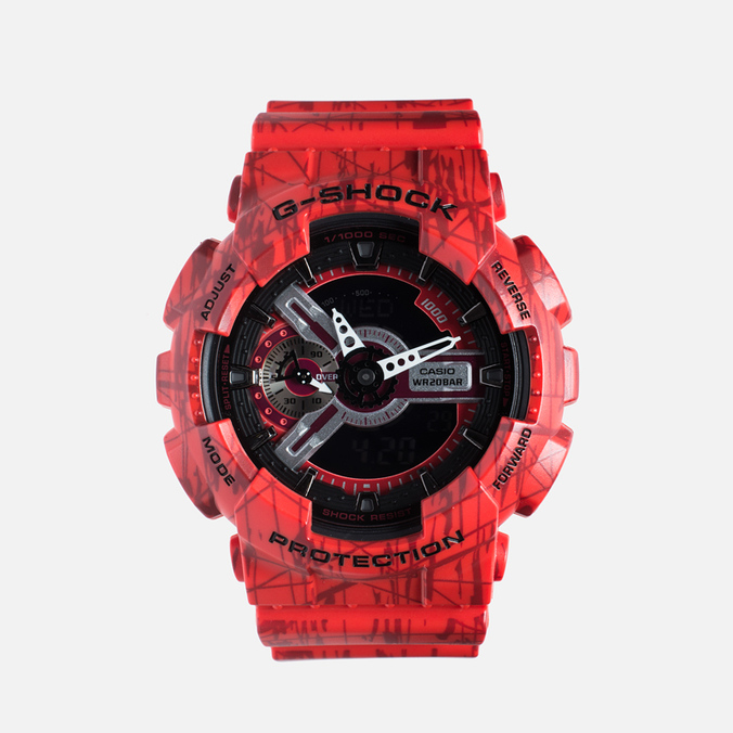 Наручные часы CASIO G-SHOCK GA-110SL-4A Red