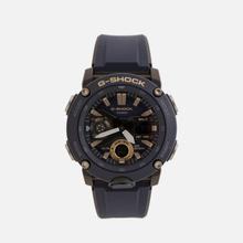 Наручные часы CASIO G-SHOCK GA-2000-2AER Carbon Core Guard Navy/Black/Gold фото- 0